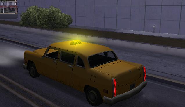 [MTA:SA] Trabalho de Taxista