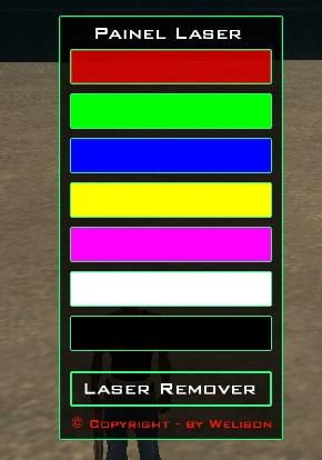 Painel Laser